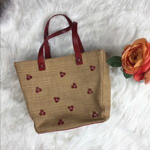 COLE HAAN Vintage Woven Tote bag